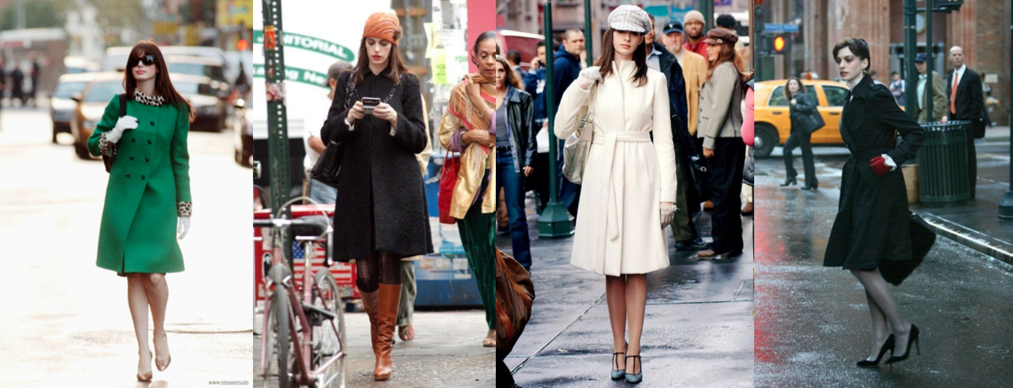 Every Outfit Anne Hathaway Wears In The Devil Wears Prada